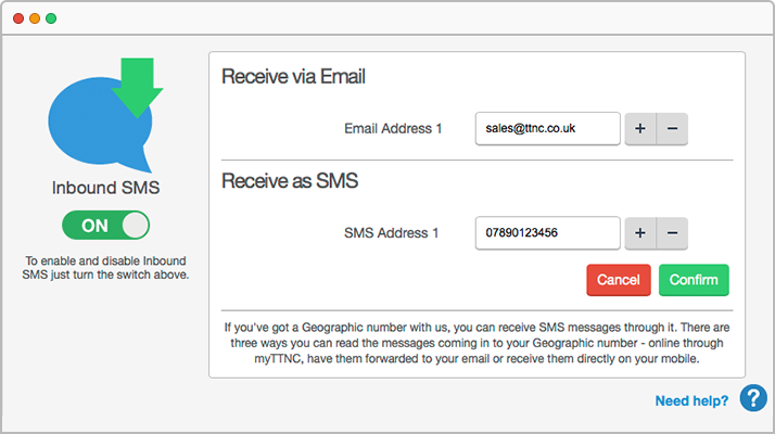 Communicate with your customers using SMS and Fax